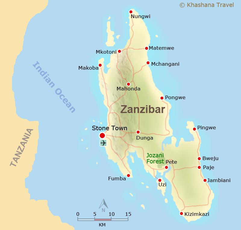 Trauminsel Sansibar - Tansania Reise Portal